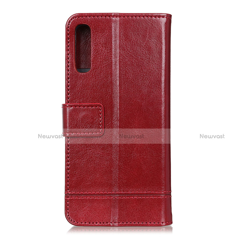 Leather Case Stands Flip Cover L09 Holder for Huawei Y8p