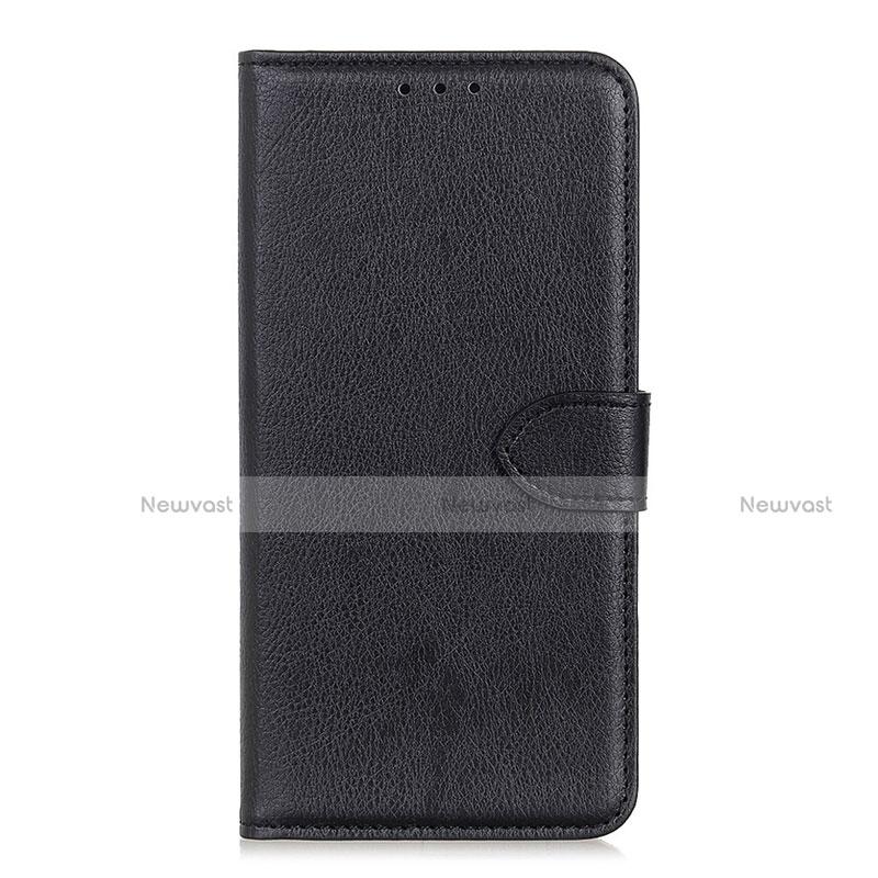 Leather Case Stands Flip Cover L10 Holder for Huawei Enjoy 10S Black