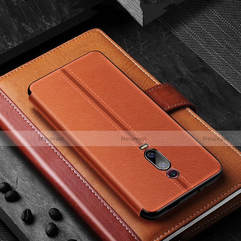 Leather Case Stands Flip Cover T02 Holder for Xiaomi Mi 9T Pro
