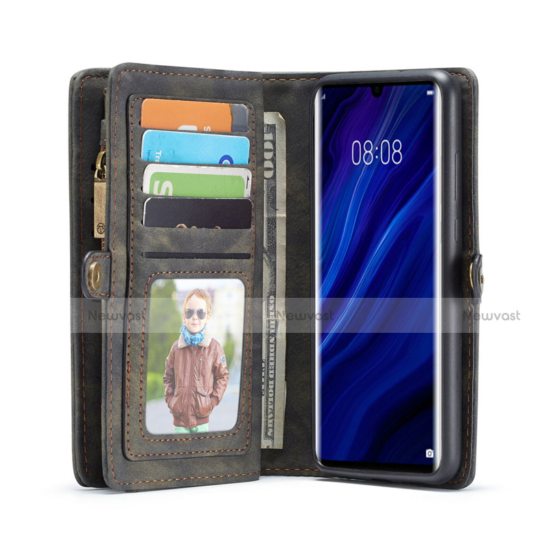 Leather Case Stands Flip Cover T03 Holder for Huawei P30 Pro