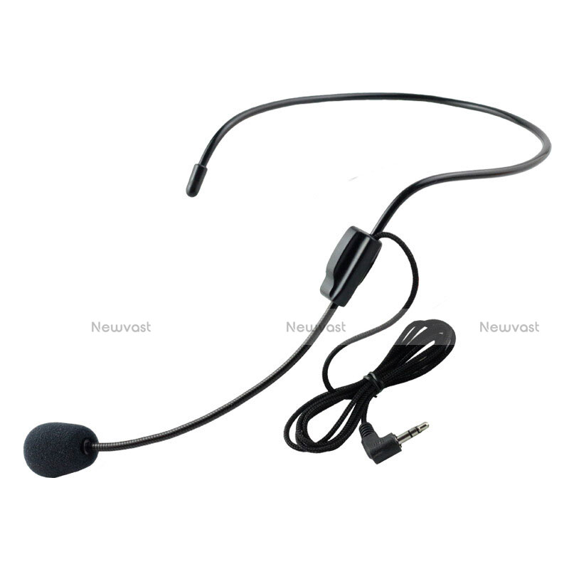 Luxury 3.5mm Mini Handheld Microphone Singing Recording M11 Black