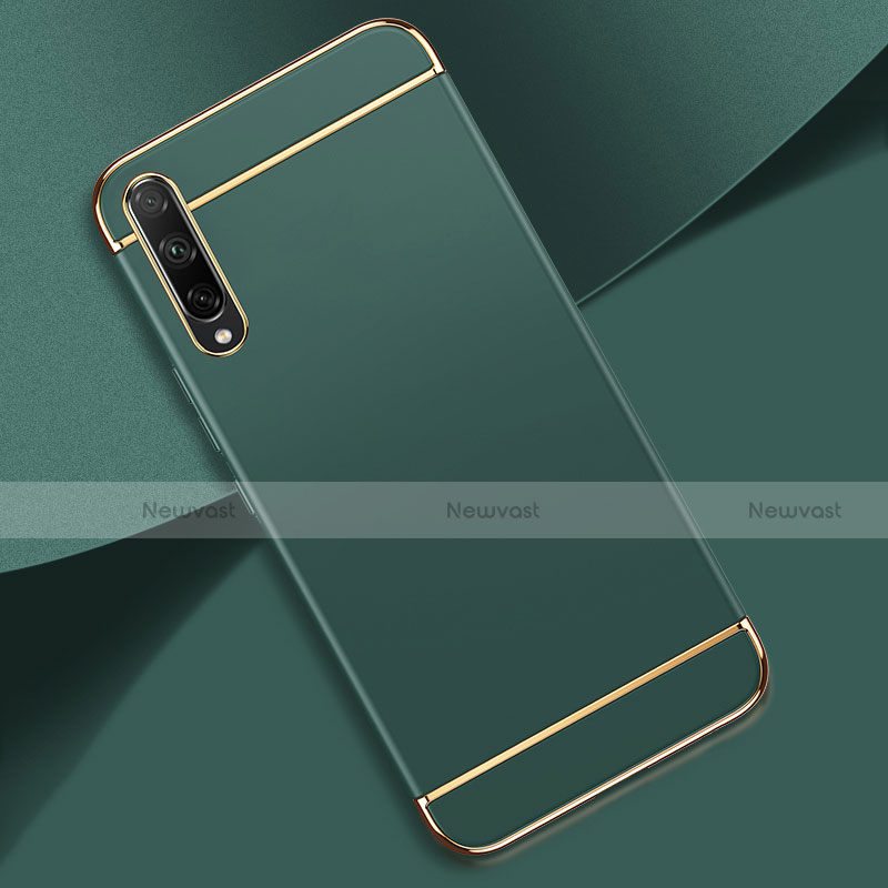 Luxury Metal Frame and Plastic Back Cover Case M01 for Huawei Enjoy 10S