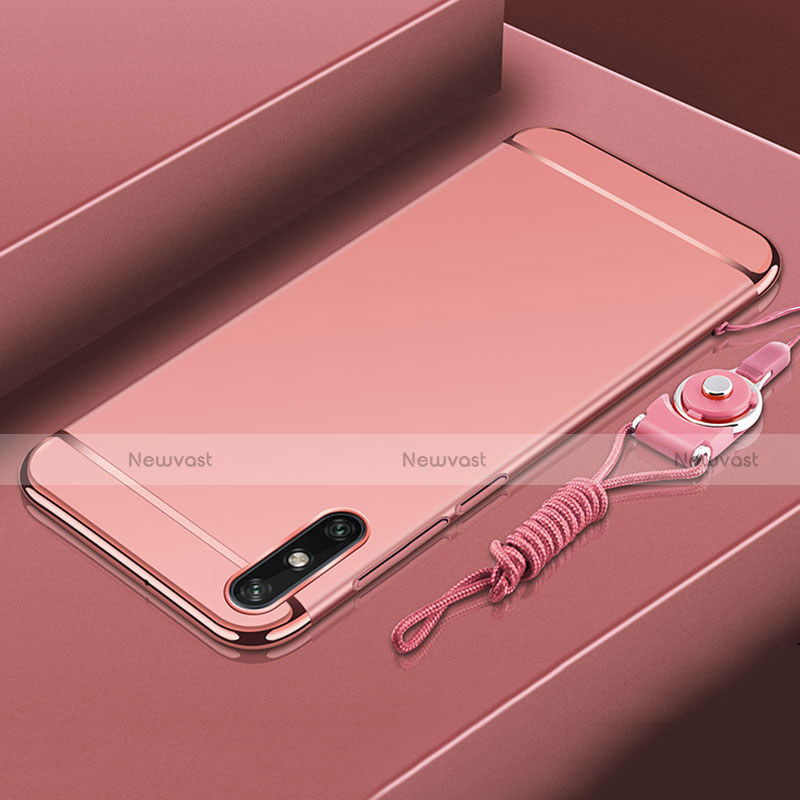 Luxury Metal Frame and Plastic Back Cover Case M03 for Huawei Enjoy 10e