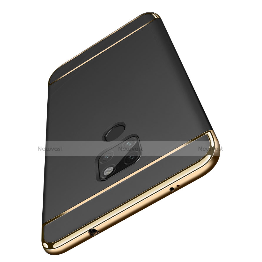 Luxury Metal Frame and Plastic Back Cover for Huawei Mate 20 Black