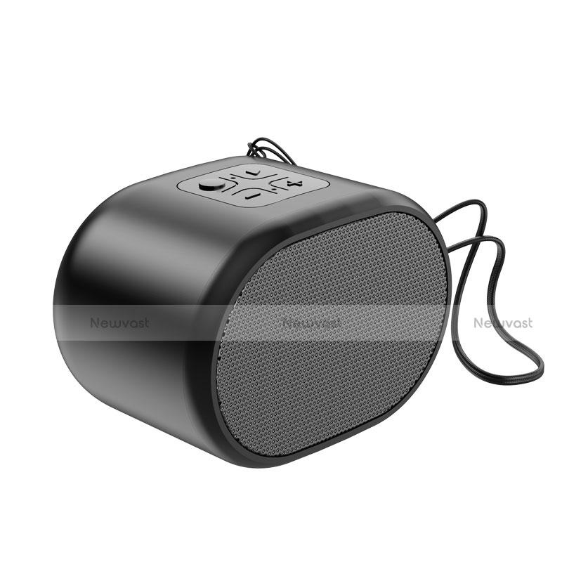 Mini Wireless Bluetooth Speaker Portable Stereo Super Bass Loudspeaker K06 Black