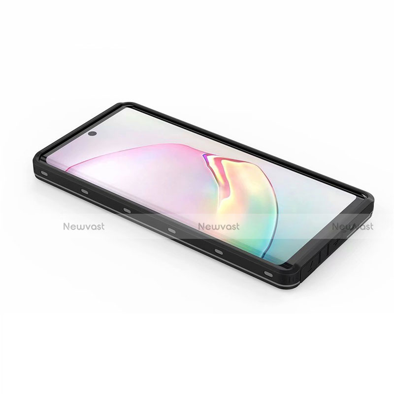 Silicone and Plastic Waterproof Cover Case 360 Degrees Underwater Shell for Samsung Galaxy Note 20 Ultra 5G