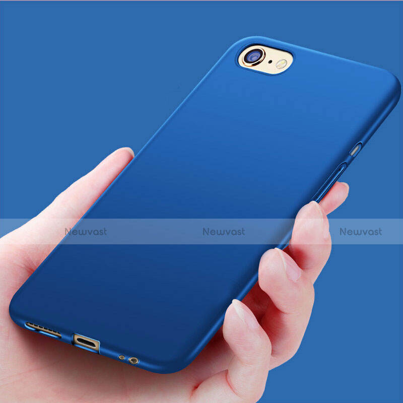 Silicone Candy Rubber Soft Case Gel for Apple iPhone SE (2020) Blue