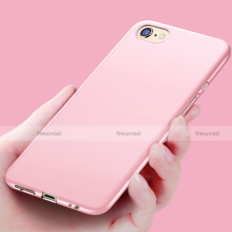 Silicone Candy Rubber Soft Case Gel for Apple iPhone SE (2020) Pink