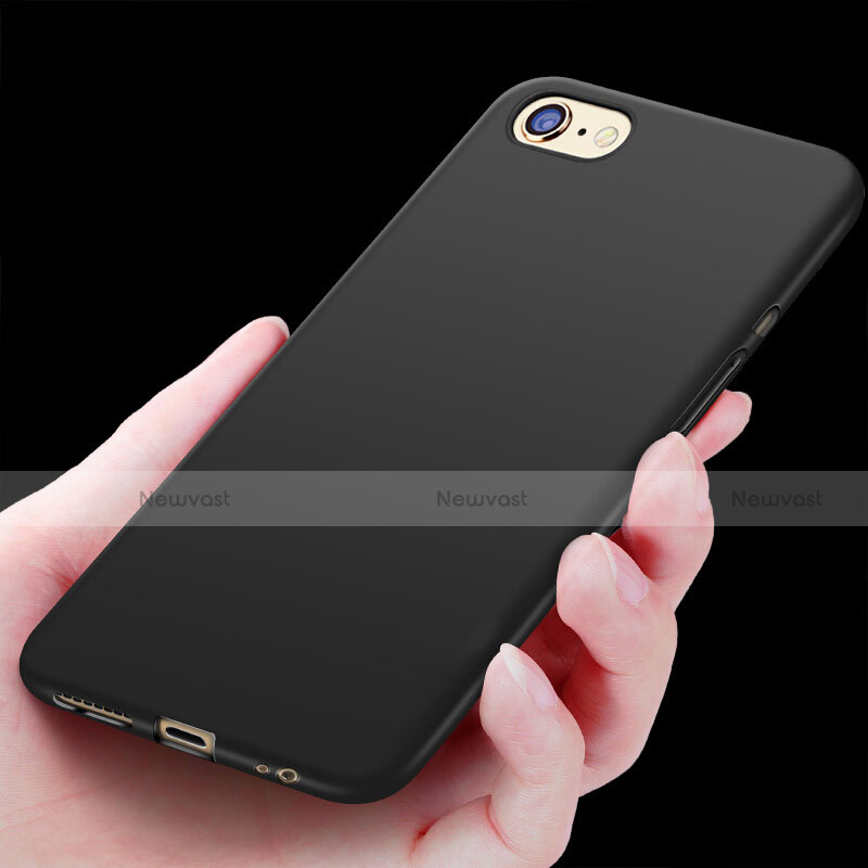 Silicone Candy Rubber Soft Case TPU for Apple iPhone SE (2020) Black
