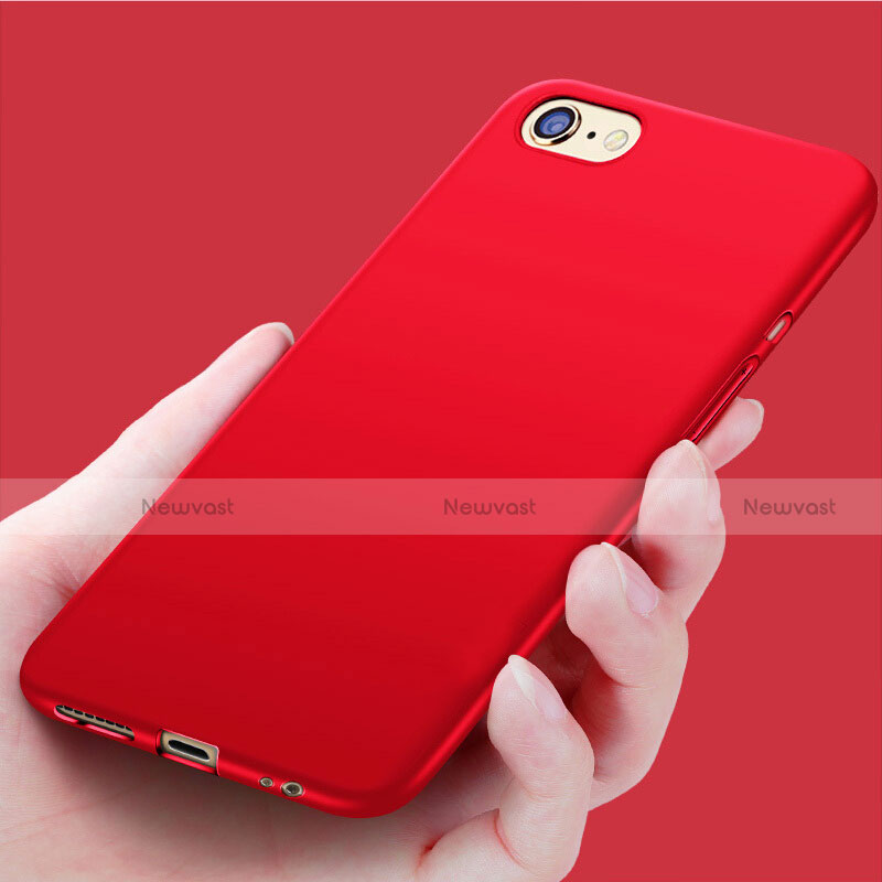Silicone Candy Rubber Soft Case TPU for Apple iPhone SE (2020) Red