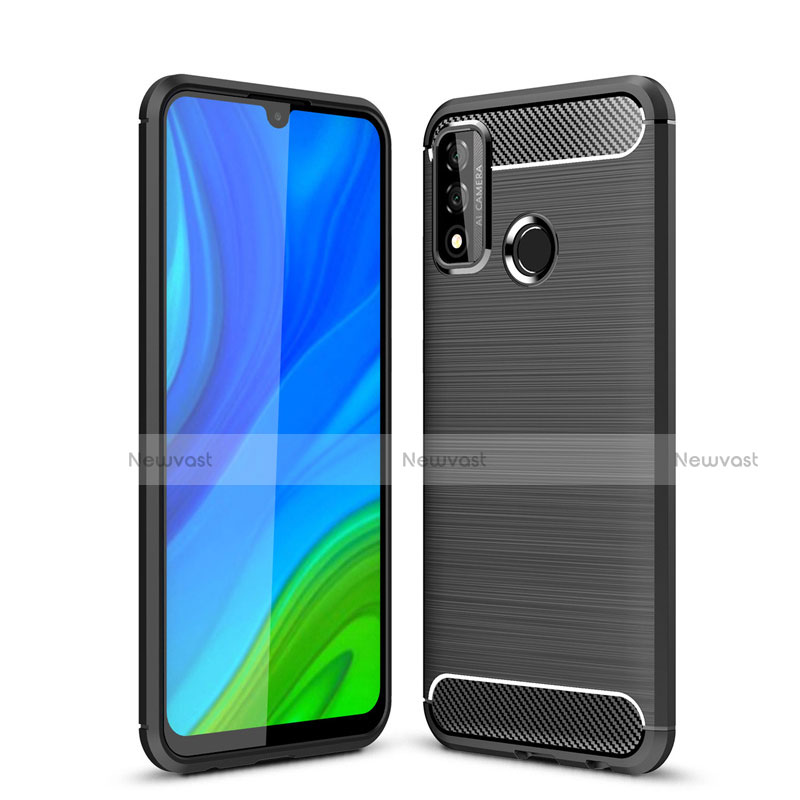Silicone Candy Rubber TPU Line Soft Case Cover for Huawei P Smart (2020)