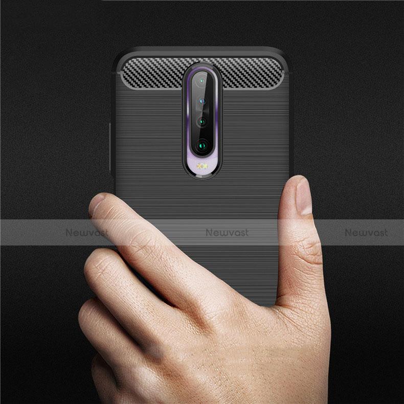 Silicone Candy Rubber TPU Line Soft Case Cover for Xiaomi Redmi K30 5G