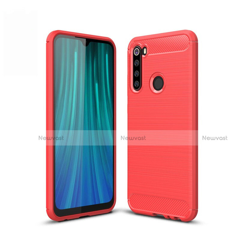 Silicone Candy Rubber TPU Line Soft Case Cover for Xiaomi Redmi Note 8
