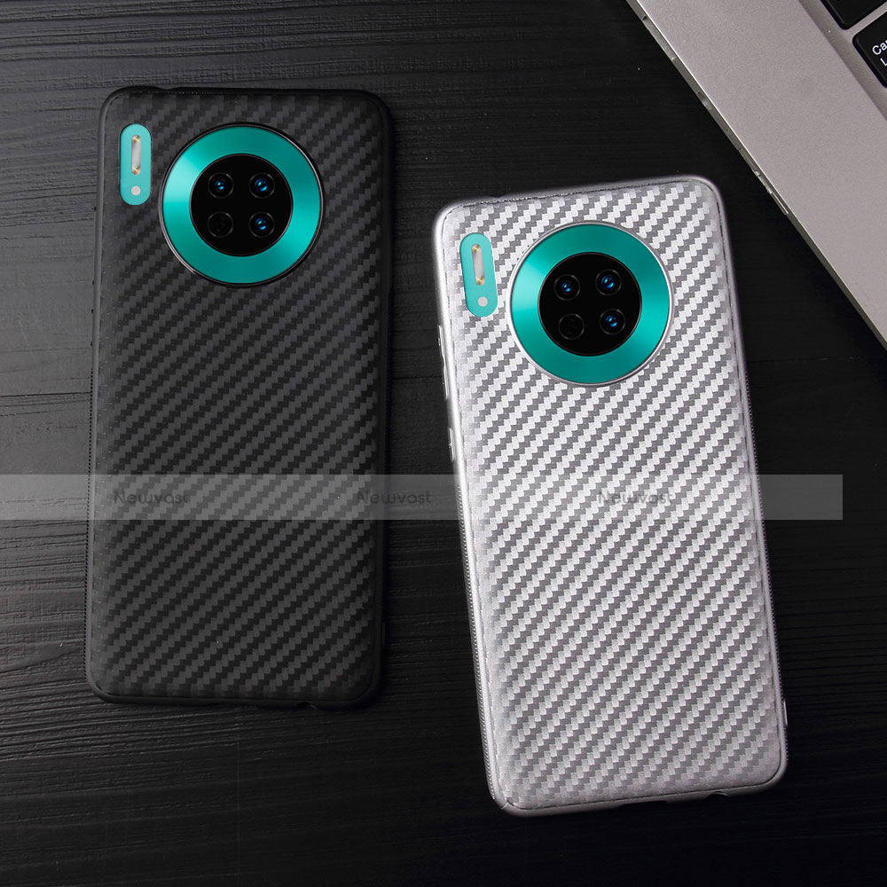 Silicone Candy Rubber TPU Twill Soft Case Cover for Huawei Mate 30 Pro 5G