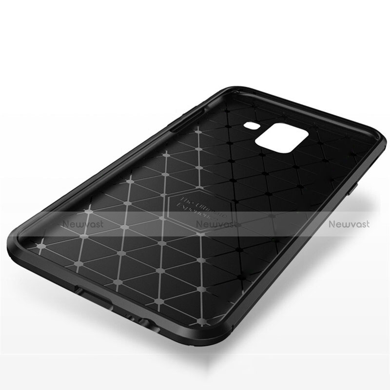 Silicone Candy Rubber TPU Twill Soft Case Cover for Samsung Galaxy A9 Star Lite