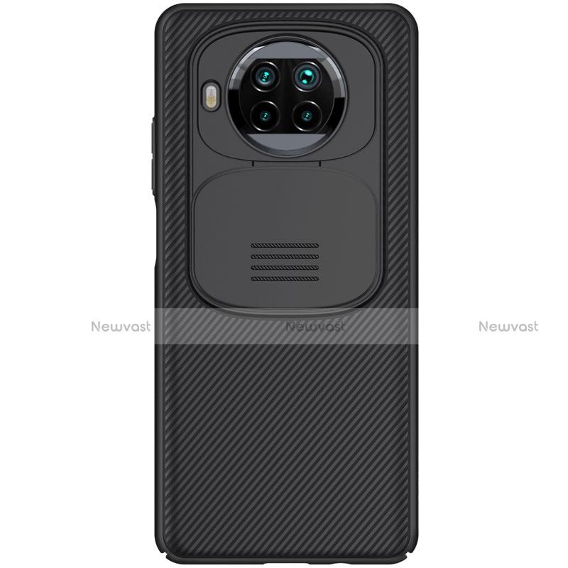 Silicone Candy Rubber TPU Twill Soft Case Cover U01 for Xiaomi Mi 10T Lite 5G Black