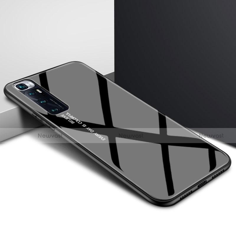 Silicone Frame Mirror Case Cover for Xiaomi Mi 10 Ultra Black