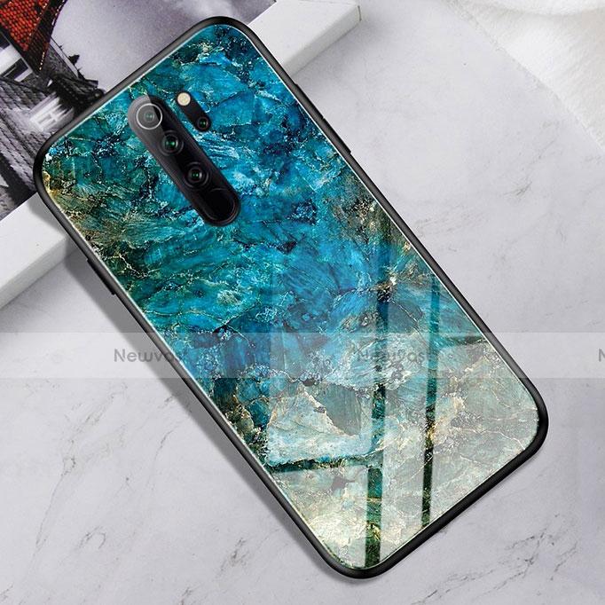 Silicone Frame Mirror Case Cover for Xiaomi Redmi Note 8 Pro