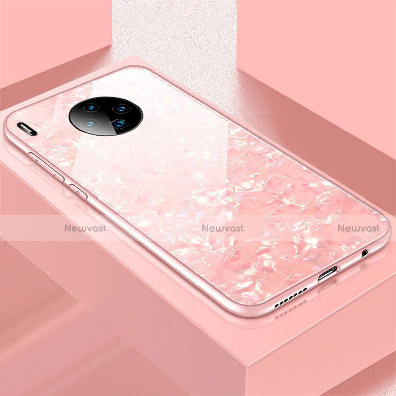 Silicone Frame Mirror Case Cover M02 for Huawei Mate 30 Pro 5G