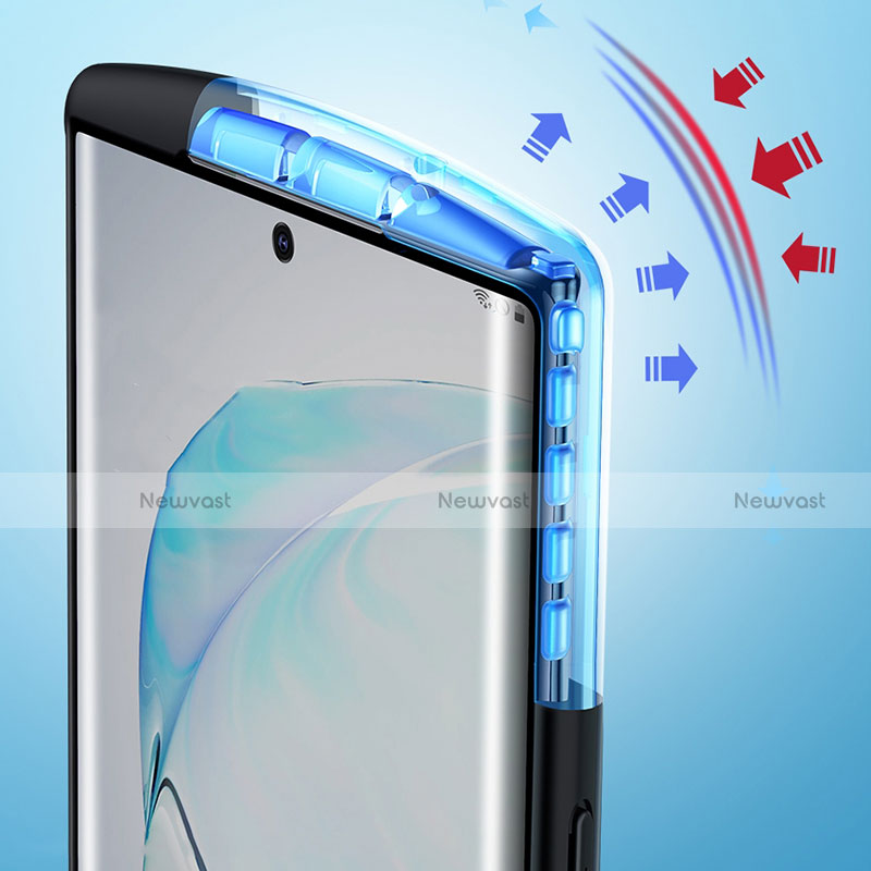 Silicone Transparent Mirror Frame Case Cover M04 for Samsung Galaxy Note 20 Ultra 5G