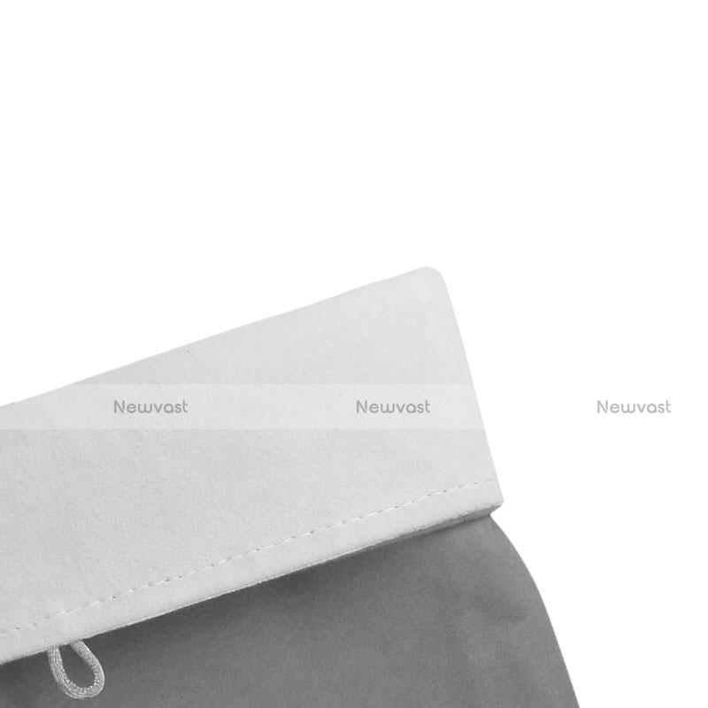 Sleeve Velvet Bag Case Pocket for Apple iPad 4 Gray