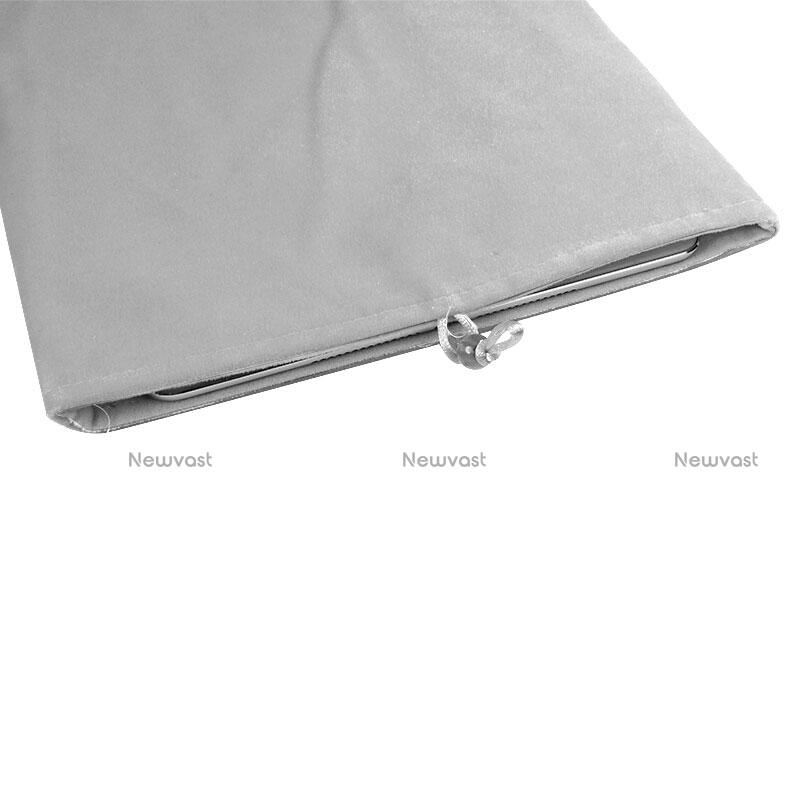 Sleeve Velvet Bag Case Pocket for Apple iPad Air White