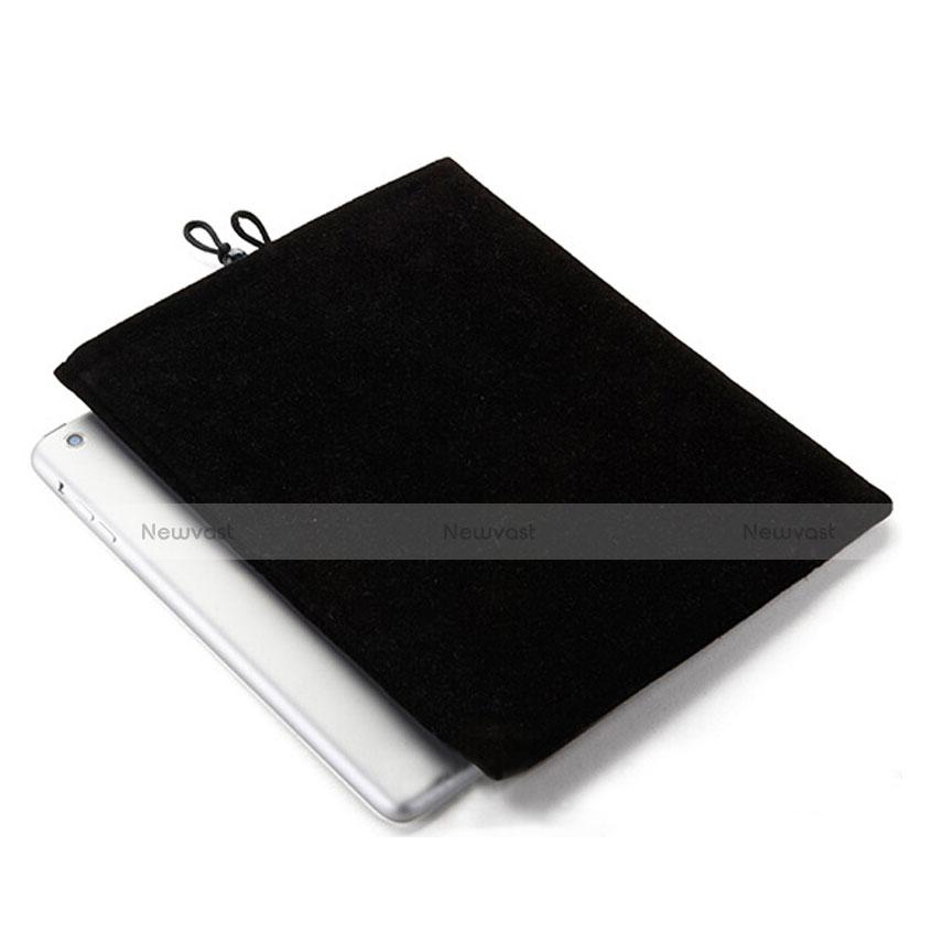 Sleeve Velvet Bag Case Pocket for Apple iPad Mini 2 Black