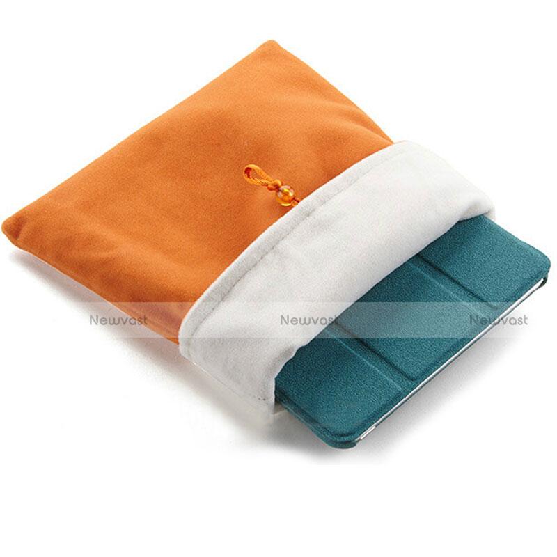 Sleeve Velvet Bag Case Pocket for Apple iPad Pro 9.7 Orange