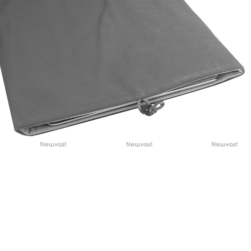 Sleeve Velvet Bag Case Pocket for Samsung Galaxy Tab S2 8.0 SM-T710 SM-T715 Gray