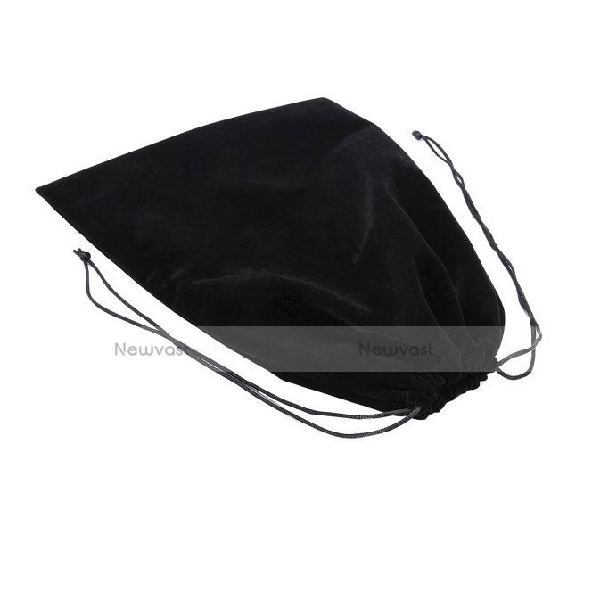 Sleeve Velvet Bag Slip Case for Huawei MediaPad X2 Black