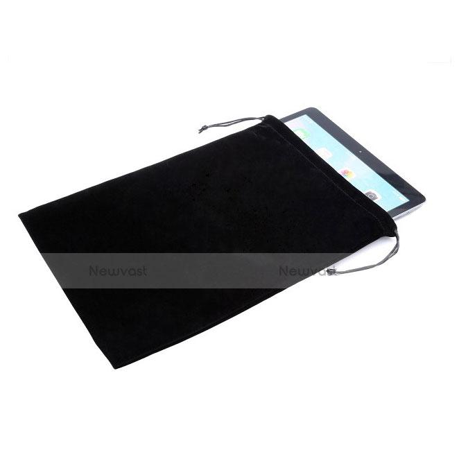 Sleeve Velvet Bag Slip Case for Samsung Galaxy Tab S2 8.0 SM-T710 SM-T715 Black