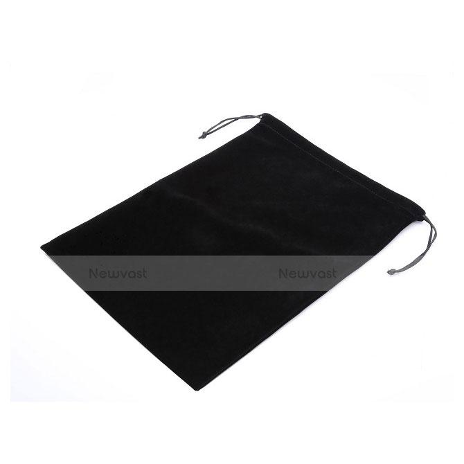 Sleeve Velvet Bag Slip Case for Samsung Galaxy Tab S2 9.7 SM-T810 SM-T815 Black