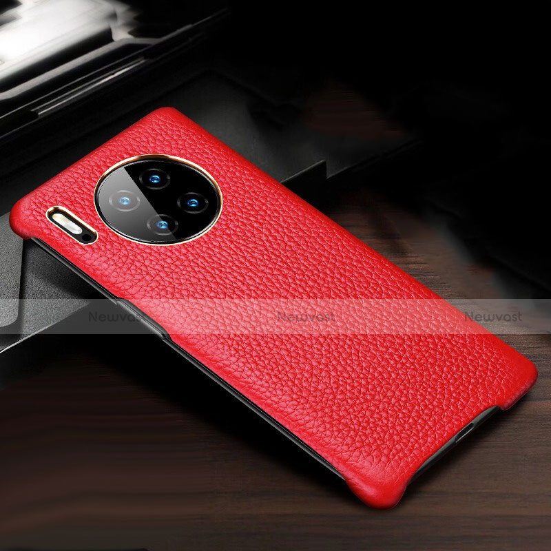 Soft Luxury Leather Snap On Case Cover for Huawei Mate 30 Pro 5G