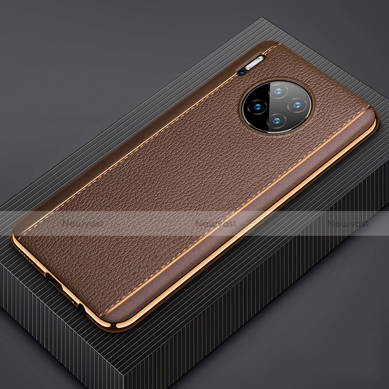 Soft Luxury Leather Snap On Case Cover R07 for Huawei Mate 30 Pro