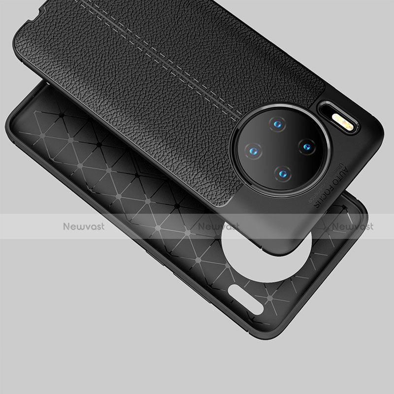 Soft Silicone Gel Leather Snap On Case Cover for Huawei Mate 30 Pro 5G