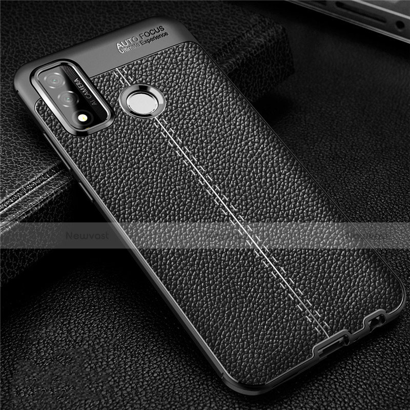 Soft Silicone Gel Leather Snap On Case Cover for Huawei P Smart (2020)