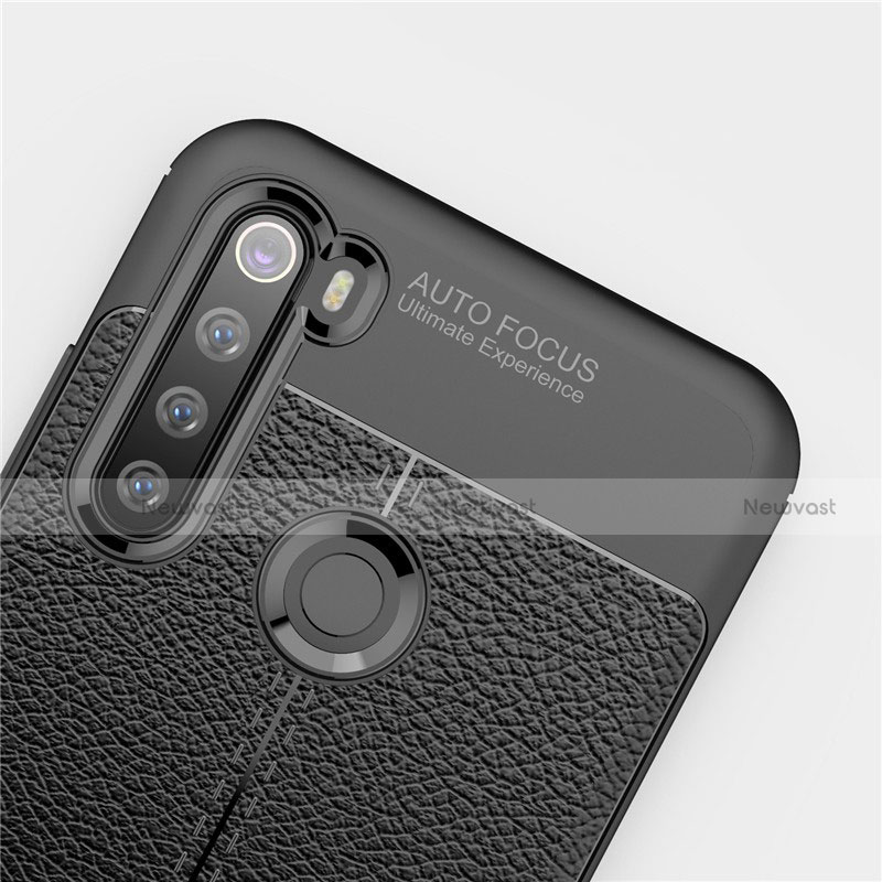 Soft Silicone Gel Leather Snap On Case Cover for Xiaomi Redmi Note 8