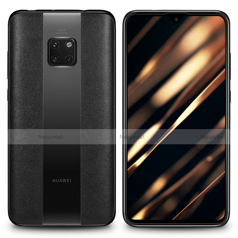 Soft Silicone Gel Leather Snap On Case Cover H01 for Huawei Mate 20 RS