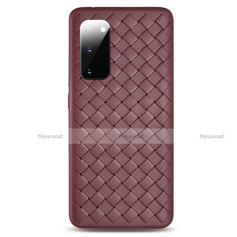 Soft Silicone Gel Leather Snap On Case Cover H03 for Samsung Galaxy S20 5G