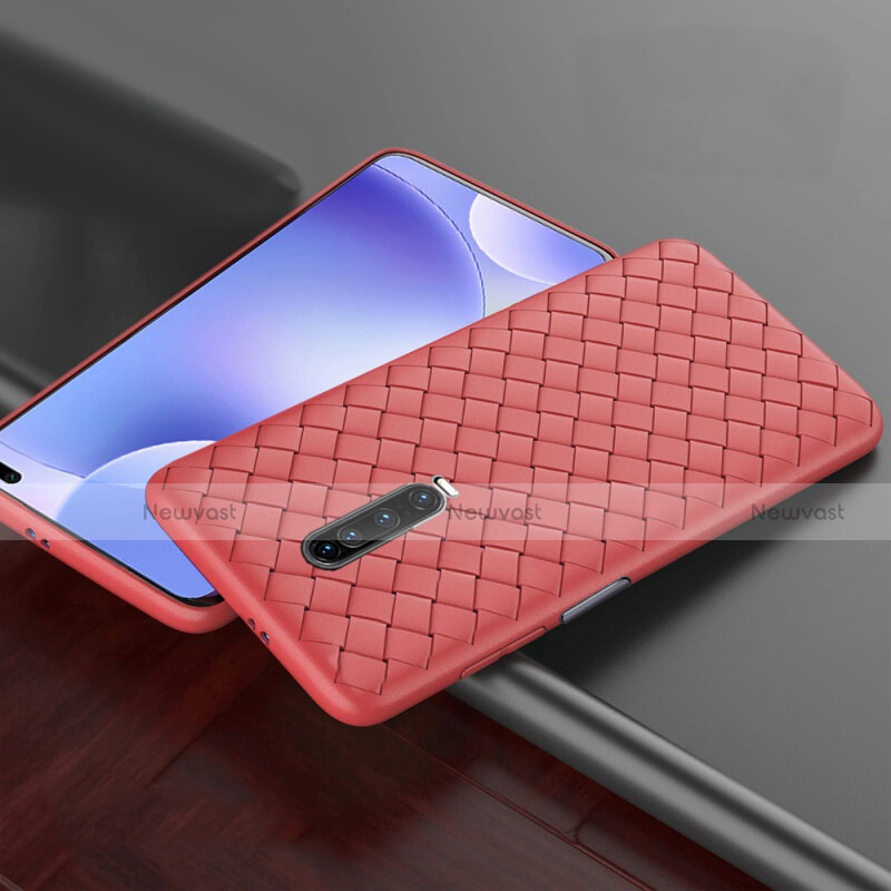 Soft Silicone Gel Leather Snap On Case Cover S03 for Xiaomi Redmi K30 5G