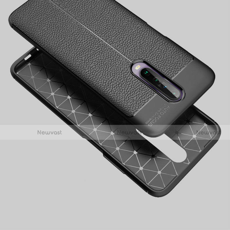 Soft Silicone Gel Leather Snap On Case Cover S04 for Xiaomi Redmi K30 5G