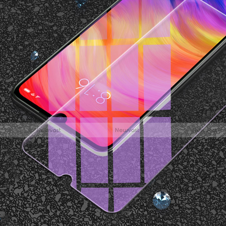 Tempered Glass Anti Blue Light Screen Protector Film for Xiaomi Redmi Note 8 Clear