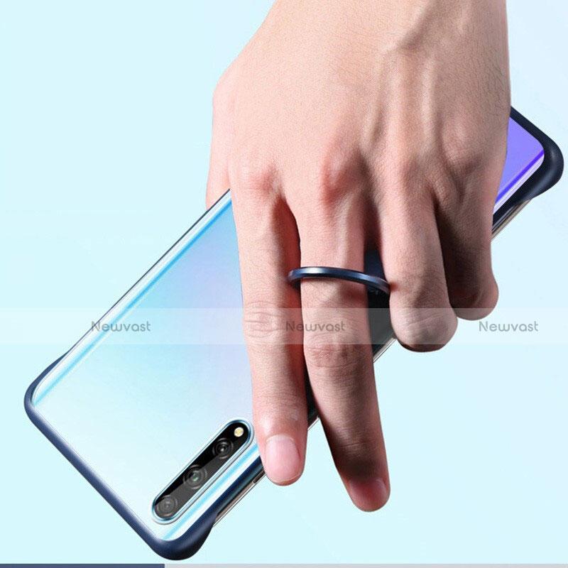 Transparent Crystal Hard Case Back Cover H01 for Huawei Enjoy 10S