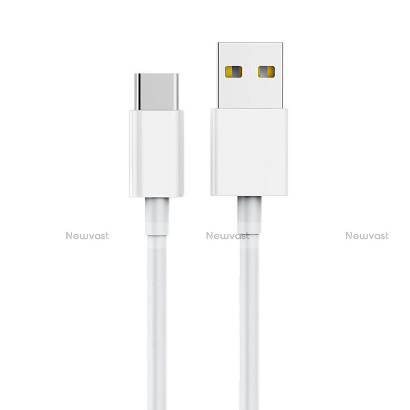 Type-C Charger USB Data Cable Charging Cord Android Universal T05 White