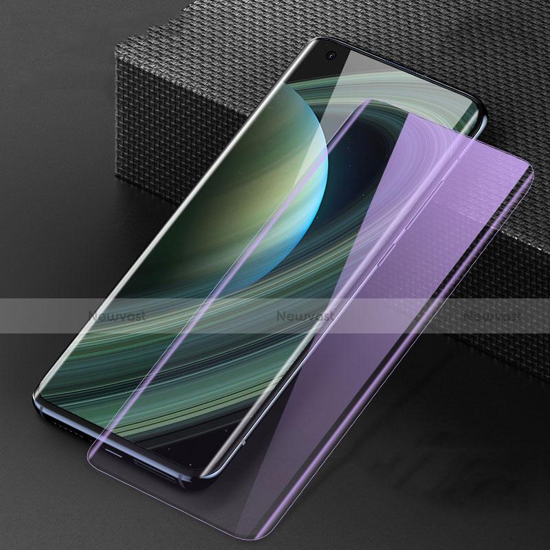Ultra Clear Anti Blue Light Full Screen Protector Tempered Glass F02 for Xiaomi Mi 10 Ultra Black