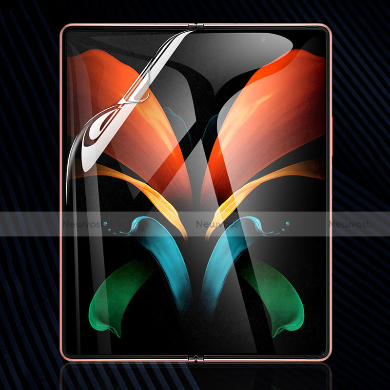 Ultra Clear Full Screen Protector Film for Samsung Galaxy Z Fold2 5G Clear