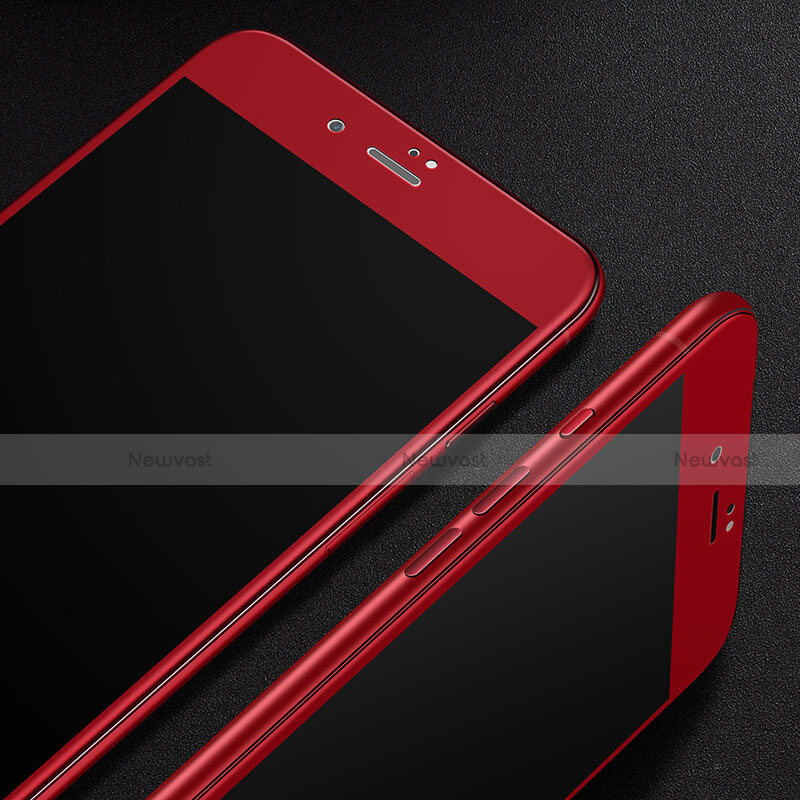 Ultra Clear Full Screen Protector Tempered Glass F14 for Apple iPhone SE (2020) Red