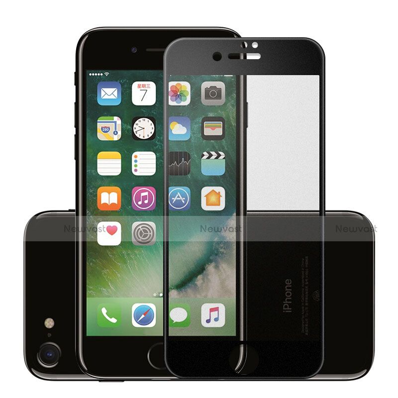 Ultra Clear Full Screen Protector Tempered Glass F16 for Apple iPhone SE (2020) Black