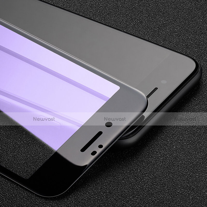 Ultra Clear Full Screen Protector Tempered Glass F17 for Apple iPhone SE (2020) Black