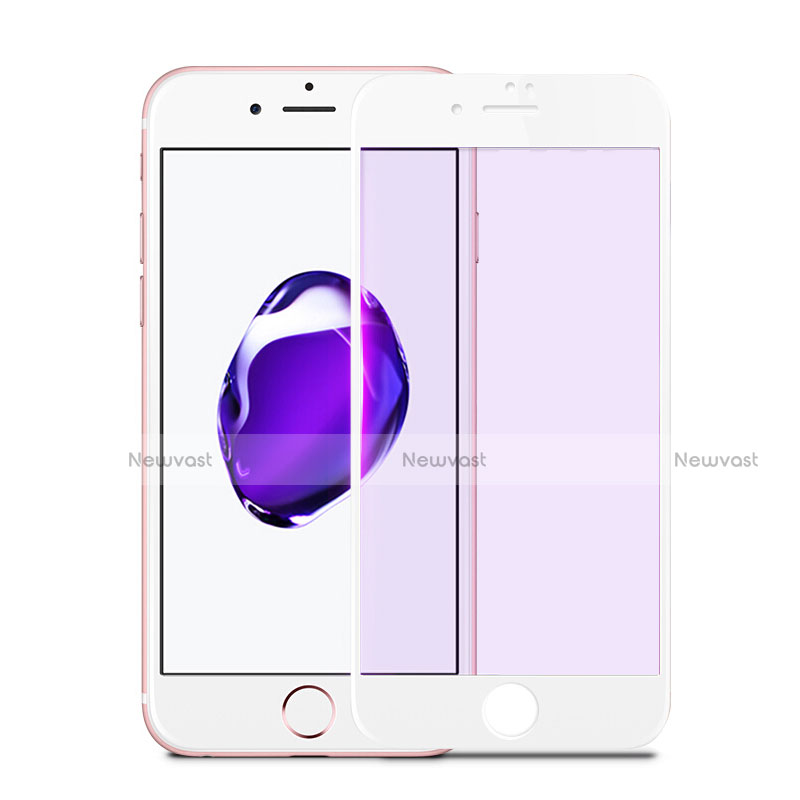 Ultra Clear Full Screen Protector Tempered Glass F17 for Apple iPhone SE (2020) White